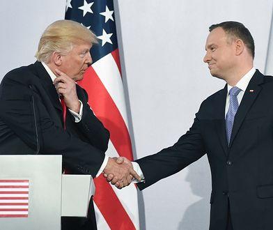 - Sam prezydent Trump też nie ukrywa, że mu się dobrze rozmawia z prezydentem Andrzejem Dudą - twierdzi Paweł Mucha