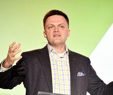 Hołownia skrytykował wystąpienie premiera Morawieckiego na Jasnej Górze.