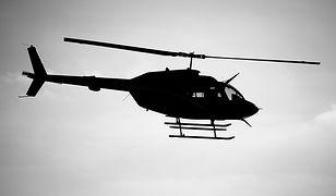 Katastrofa helikoptera w Japonii. Znaleziono część ciała
