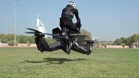 Latające motocykle pomogą policji ścigać przestępców. To nie jest science fiction