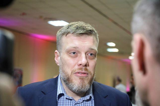 Członek Partii Razem Adrian Zandberg (zdj. arch.)