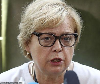 Małgorzata Gersdorf utrzymuje, ze jest I prezes SN do 2020 roku
