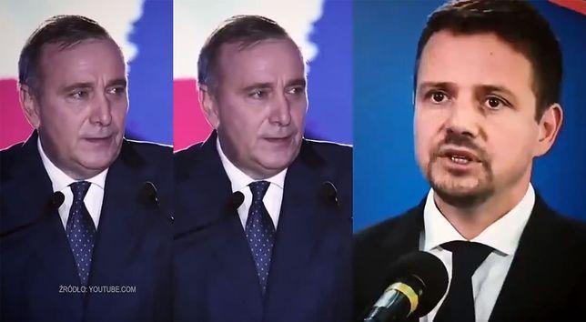 Wybory parlamentarne 2019. Politycy PO i dyrygent w spocie PiS