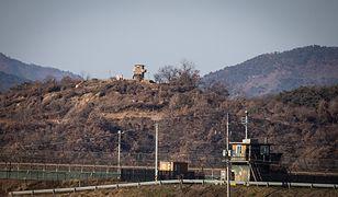 Wymiana ognia na granicy Korei Południowej z Koreą Północną