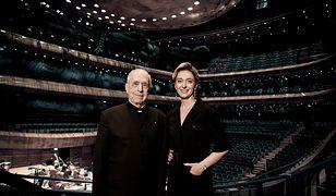 Na zdjęciu: Lawrence Foster oraz Ewa Bogusz - Moore