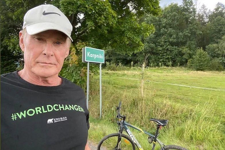 Światowa gwiazda w Polsce. Piękny gest Davida Hasselhoffa