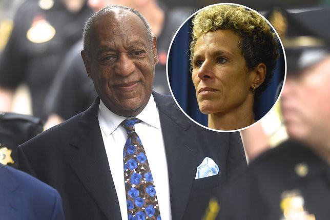 Bill Cosby został skazany m.in. za wykorzystanie seksualne Andrei Constand (po prawej)
