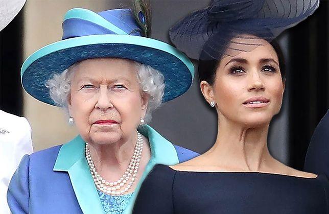 Elżbieta II i Meghan Markle