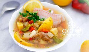 Grecka zupa cytrynowa. Zastąpi dwudaniowy obiad