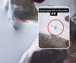 Odkrył ciało na Google Maps. Zwłoki porzucone w śniegu?
