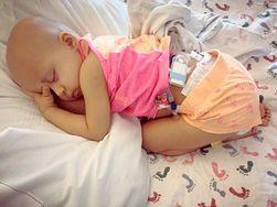 Sophii Soto walczy z nowotworem. Widok zdewastowanego dziecka chwyta za serce