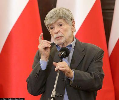 Szewach Weiss, były ambasador Izraela w Polsce