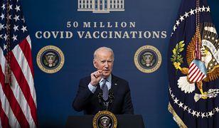 USA. Joe Biden wydał komunikat ws. aneksji Krymu przez Rosję