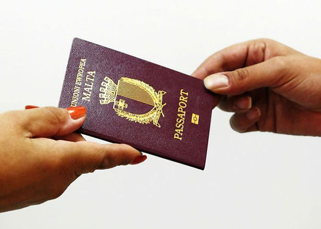 Paszport Malty. Cena: 650 tys. euro