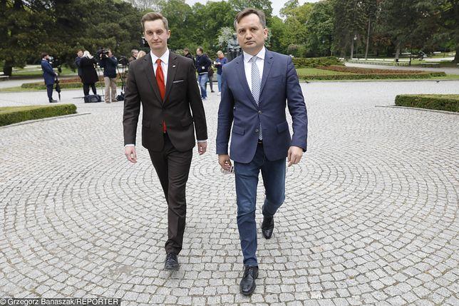 Sebastian Kaleta i Zbigniew Ziobro