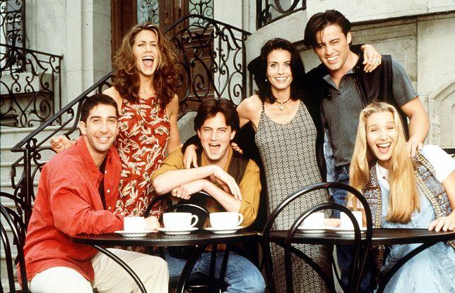 """Nie tylko Jennifer Aniston. David Schwimmer również opublikował zdjęcie nawiązujące do serialu """"Przyjaciele"""""""