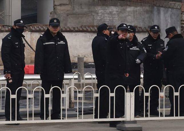 Katastrofa w Chinach. Na budowie zawaliła się platforma, nie żyje 9 osób