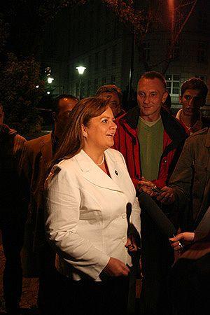 Renata Beger odchodzi z Samoobrony