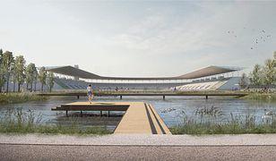 Wizualizacje stadionu oraz jego otoczenia robią wrażenie
