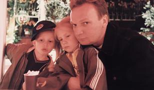 Ciechowski z synem Brunem i córką Helą