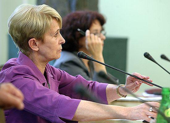 Iwona Śledzińska-Katarasińska typowana na stanowisko marszałka seniora