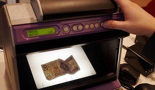 Urządzenie do sprawdzania pieniędzy