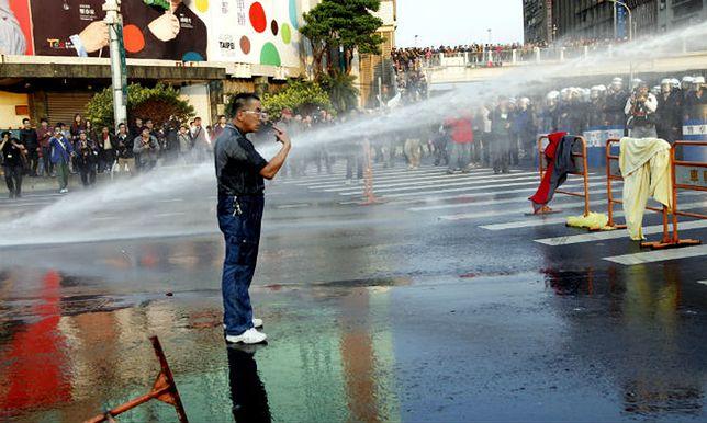 Ubiegłoroczny protest studentów