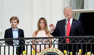Żona uratowała Donalda Trumpa przed skandalem. Ale wpadka była