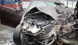 Śląsk. W wypadku w Mysłowicach zginął 39-letni kierowca opla.