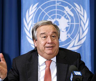 Były portugalski premier Antonio Guterres zaprzysiężony na sekretarza generalnego ONZ