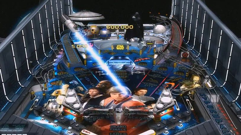 Pinball z Gwiezdnych Wojen? Czy może być coś lepszego?