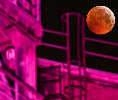 Zaćmienie Księżyca 2019. Zdjęcia są przepiękne
