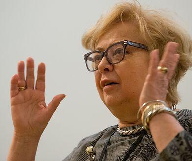 I prezes SN, Małgorzata Gersdorf - to ona według TSUE od początku miała rację w sporze z rządem.