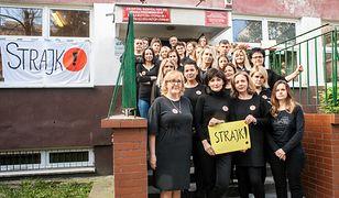 Strajk nauczycieli i nauczycielek w zespole szkół nr. 20 we Wrocławiu