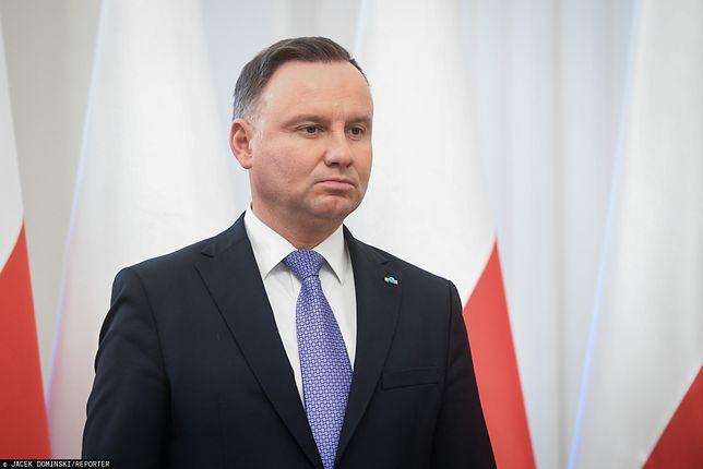 Andrzej Duda nie mógł się wysłowić