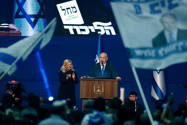 Wybory w Izraelu. Benjamin Netanjahu wygrał, ale brakuje mu głosów.
