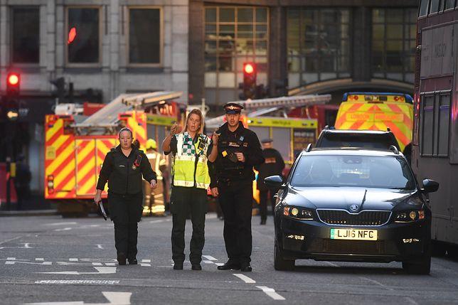 Londyn. Napastnik został zastrzelony przez policję