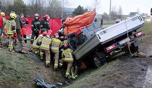 Tragiczny wypadek pod Olsztynem. Nie żyją dwie osoby