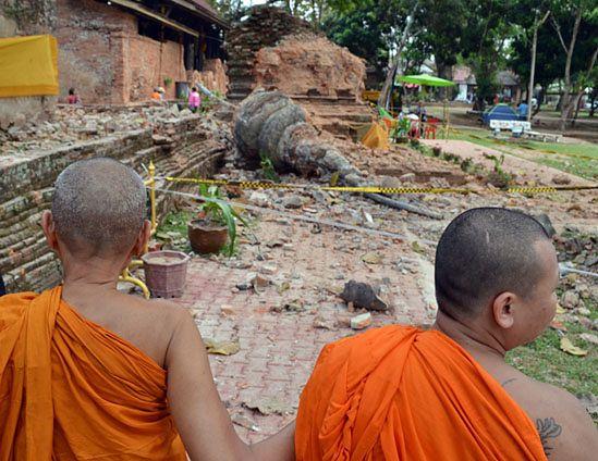 Trzęsienie ziemi w Birmie: 75 osób nie żyje
