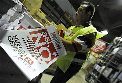 Skończyła się Hiszpania dobrobytu - teraz będzie strajk