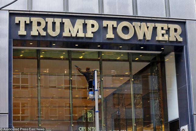 Trump Tower było wykorzystywane przez mafię do prania brudnych pieniędzy