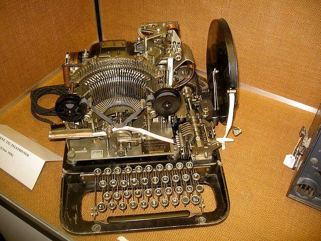 Telegraf Lorenz T32 - jedna z międzywojennych konstrukcji C. Lorenz. AG