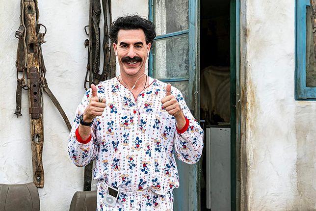 """""""Kolejny film o Boracie"""" można obejrzeć na Amazon Prime"""