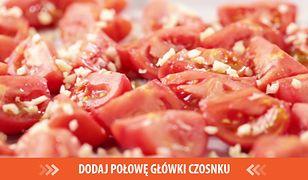 Aromatyczny krem z pieczonych pomidorów. Włoskie smaki