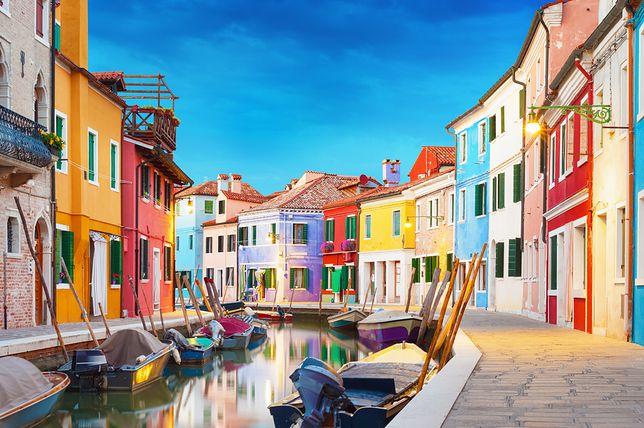 Atrakcje Włoch - Burano, Laguna Wenecka
