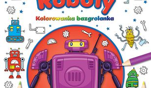 ROBOTY Kolorowanka Bazgrolanka