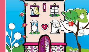 Domek dla Lalek - Koloruj, Maluj, Naklejaj