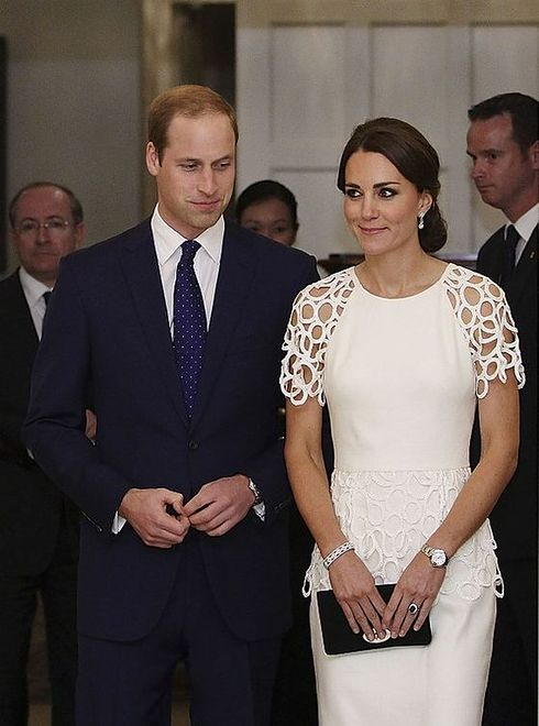 Kate i William