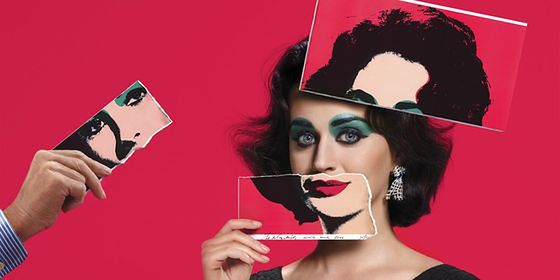 Katy Perry jako Elizabeth Taylor