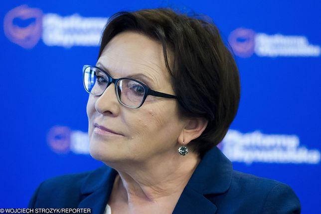 Ewa Kopacz nie chciała powiedzieć, czy wystartuje do PE